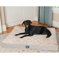 """Serta Orthopedic Quilted Pillowtop Pet Bed, 47"""" x 39"""" - Various Colors"""