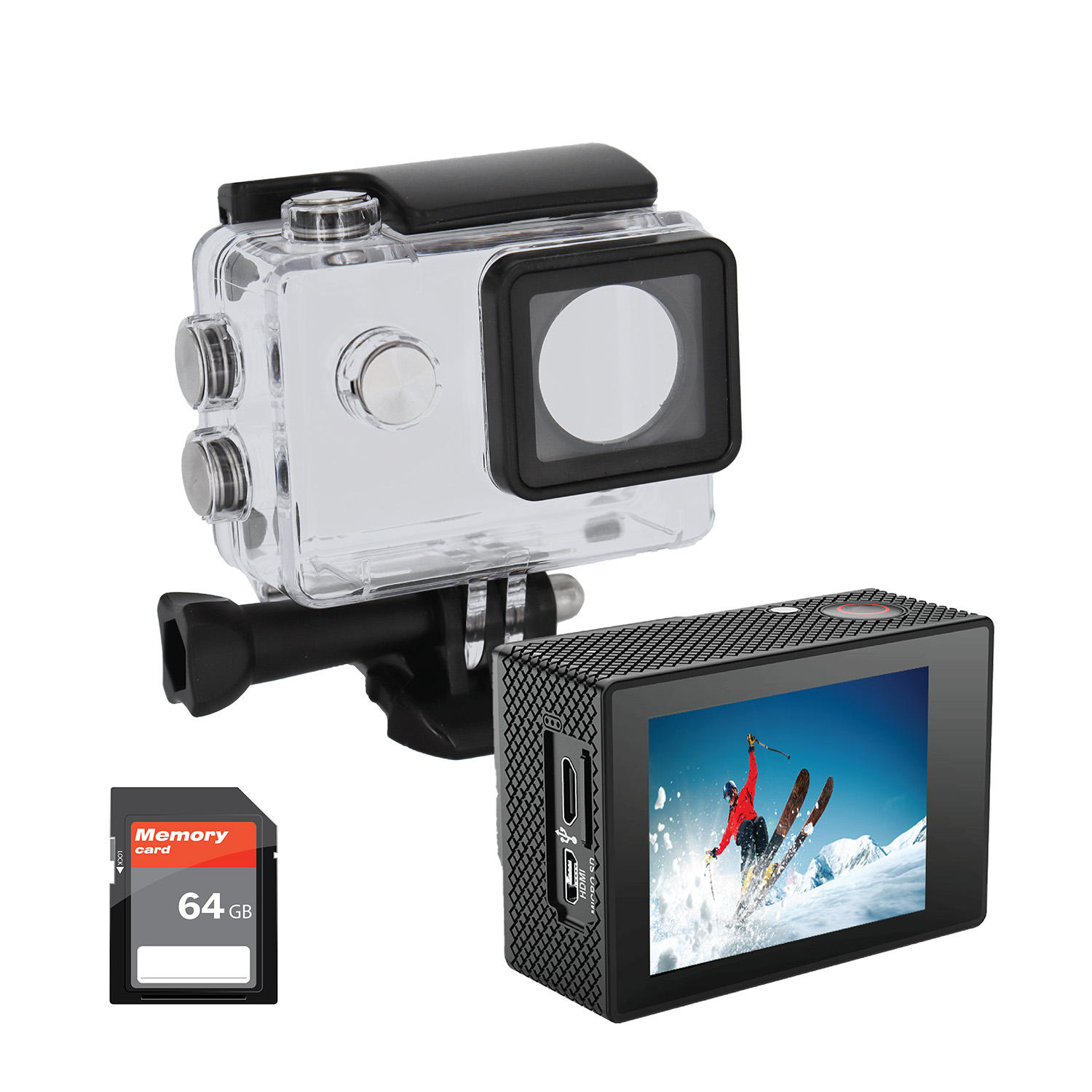iJoy IJACVS01-SC Visionne 4K Action Camera