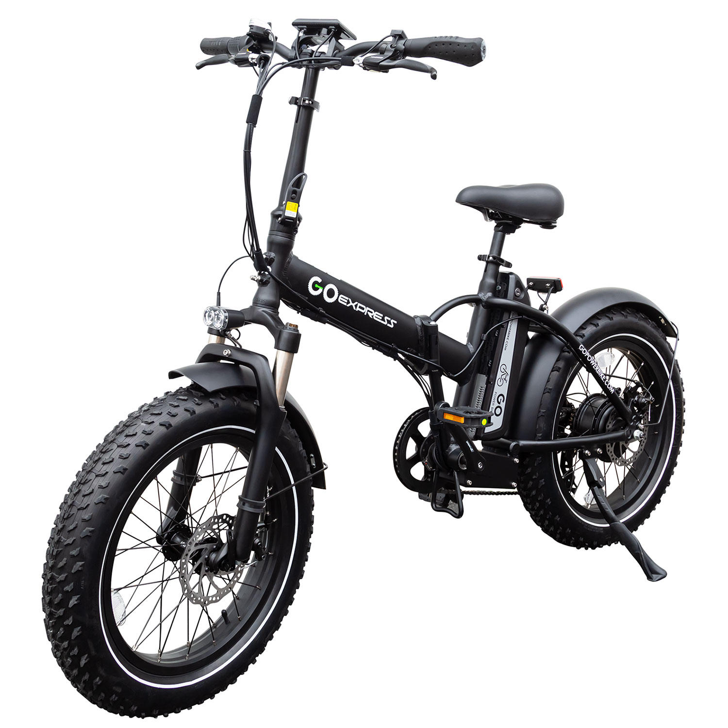 Gopowerbike GoExpressBike All Terrain 500W Electric Foldable Bicycle