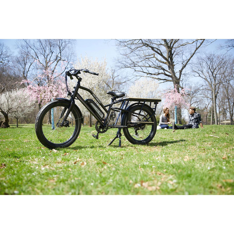 GoCargoBike All Terrain 750W Electric F Bicycle