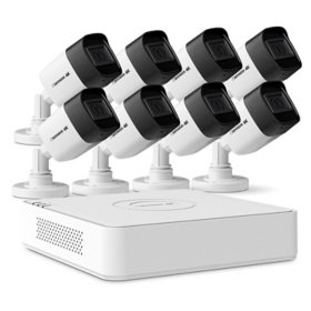 Defender Ultra HD 4K (8MP) 2TB Wired Indoor/Outdoor Security Camera System with 8 Night Vision Cameras