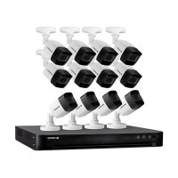 Defender Ultra HD 4K (8MP) 4TB Wired Security Camera System with 12 Night Vision Cameras