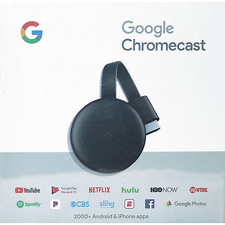 Google Chromecast V3 1 - Sam's Club