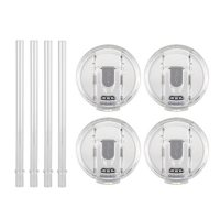 Reduce Drink Cooler Straw and Lid Accessory Set, 4 Pack