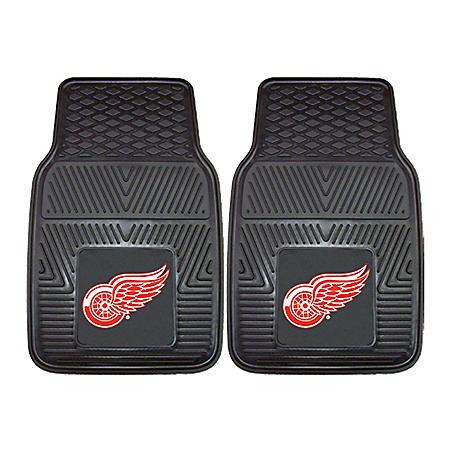 NHL - Detroit Red Wings 2-pc Vinyl Car Mat Set