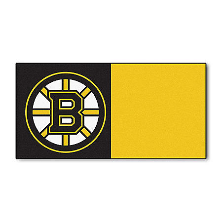 NHL - Boston Bruins Team Carpet Tiles