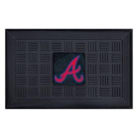 MLB Atlanta Braves Medallion Doormat