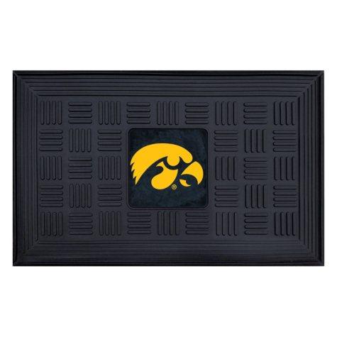 NCAA - University of Iowa Medallion Door Mat