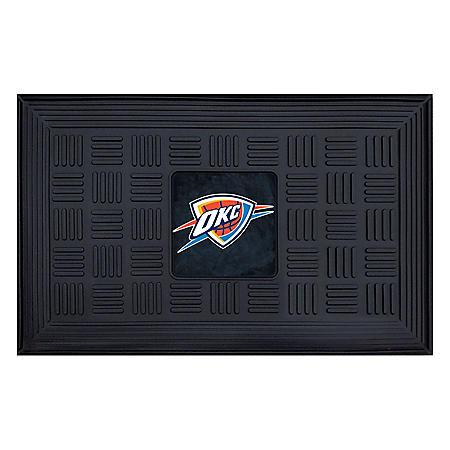 NBA Oklahoma City Thunder Medallion Doormat