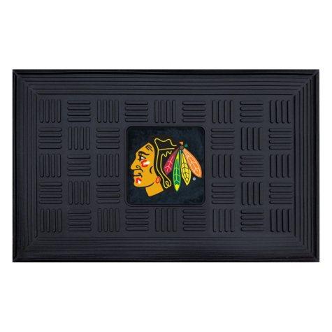NHL Chicago Blackhawks Medallion Doormat
