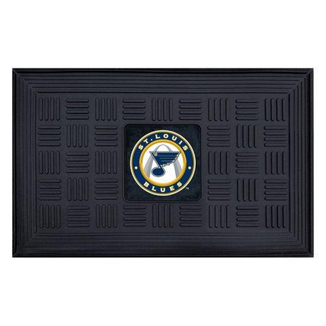 NHL St. Louis Blues Medallion Doormat