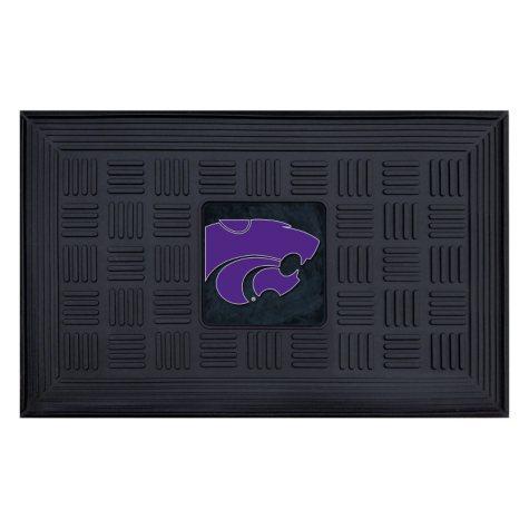 NCAA Kansas State University Medallion Doormat
