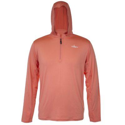 Men/'s *M*L*XL*2XL* REALTREE 1//4 Quarter Zip Camo Performance Layer Shirt Orange