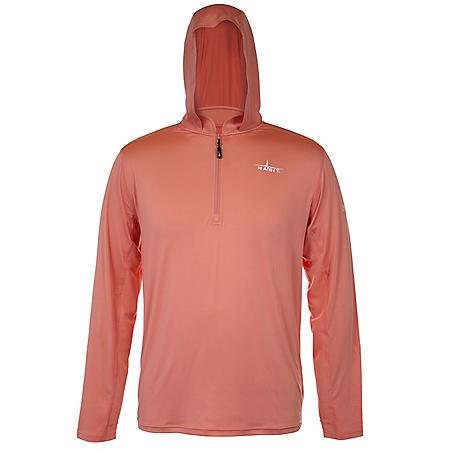 Habit Men's Hooded Performance Layer Long Sleeve Shirt