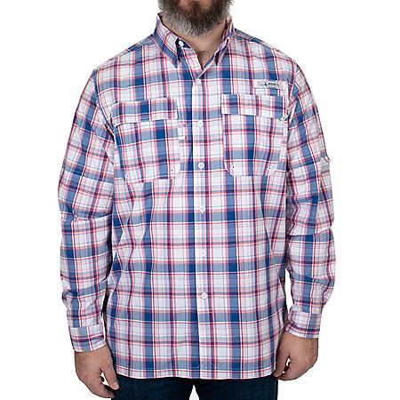 Habit Men's Long Sleeve Premier Fishing Shirt