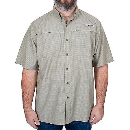 Habit Men's Short Sleeve Premier Fishing Shirt