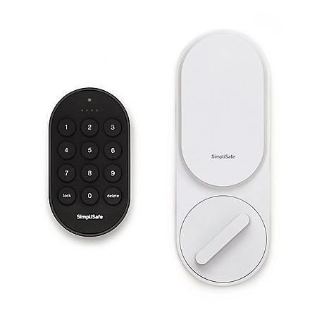 SimpliSafe Smart Lock + PIN Pad (White)