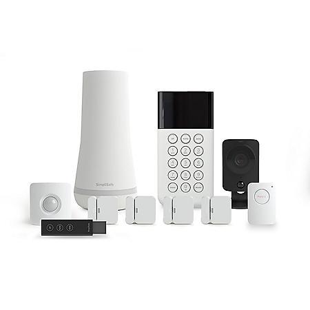 SimpliSafe 10-Piece DIY Home Security Kit with 1080p SimpliCam