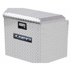 "Lund 21"" Aluminum Trailer Tongue Diamond Plated Truck Box - Silver"