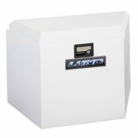 "Lund 21"" 16-Gauge Steel Trailer Tongue Box - White"
