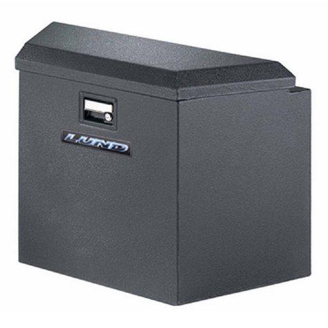 """Lund 34"""" 16-Gauge Steel Trailer Tongue Box - Black"""