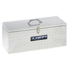 "Lund 30"" Aluminum Handheld Diamond Plated Tool Box - Silver"