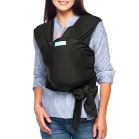 MOBY Wrap Baby Carrier, Evolution - Black