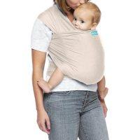 MOBY Wrap Evolution, Newborn to 33 lbs. (Almond)