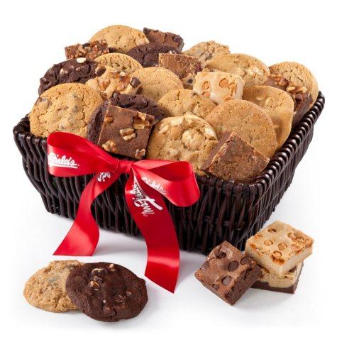 Mrs. Fields 24 Cookies & 12 Brownies Basket