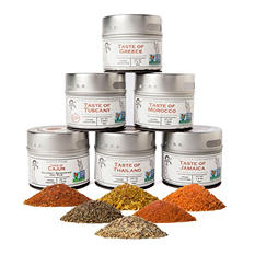 Gustus Vitae Cuisines of the World Gourmet Spice Blends