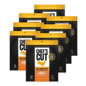 Chef's Cut Real Chicken Jerky, Honey Barbecue (8 pk.)