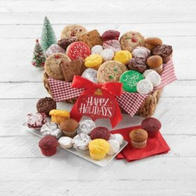 Cheryl's Holiday Dessert Gift Basket
