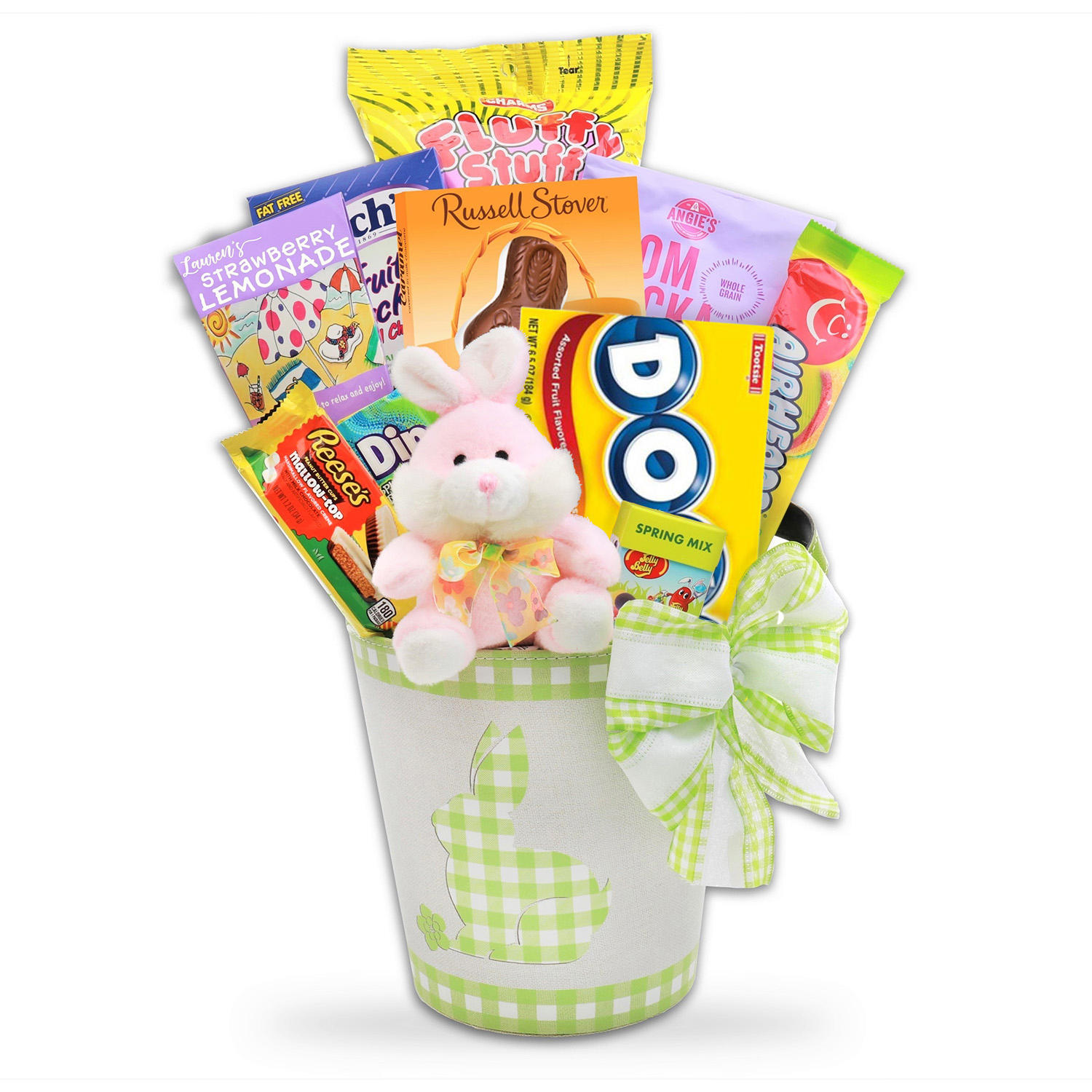 Alder Creek Gifts Gingham Easter Gift Basket