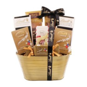 Lindt Dark and Delicious Gift Basket