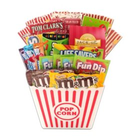 Movie Treats For The Scholar Gift Basket
