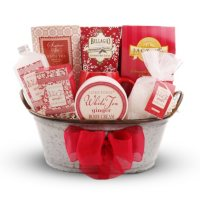 Deals on Alder Creek Gift Baskets Holiday Spa Gift Basket