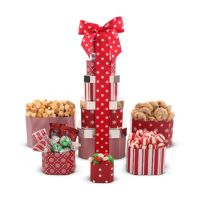 Deals on The Red Tower Gift Basket