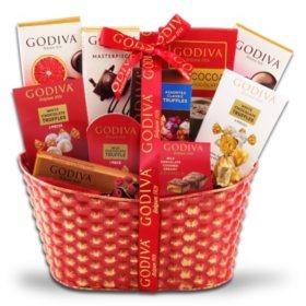 Godiva Favorites Gift Basket