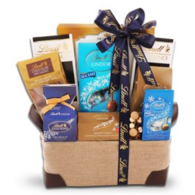 Lindt Signature Chocolate Gift Basket