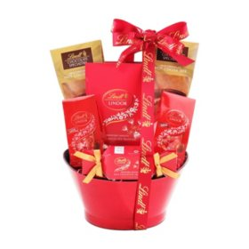 Lindt Delicious Delight Gift Basket