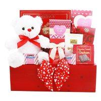 Alder Creek Gift Baskets Red Love Gift Box Deals