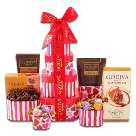 Godiva Chocolate Tower - Valentines