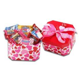 Ghirardelli Box Of V-Day Squars