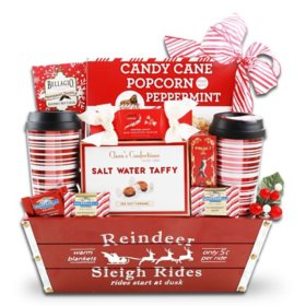 The Gifting Group Reindeer Sleigh Rides Gift Basket
