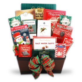 The Gifting Group Gourmet Holiday Greetings Gift Basket