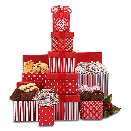 The Gifting Group Red and White Tower