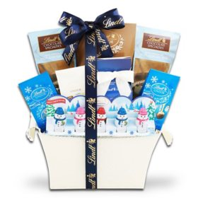 The Gifting Group Holiday Lindt Gift Basket