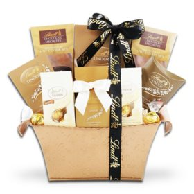 The Gifting Group Non Holiday Lindt Chocolate Basket