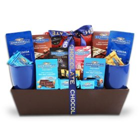 The Gifting Group Ghirardelli Chocolate Sampler Gift Basket