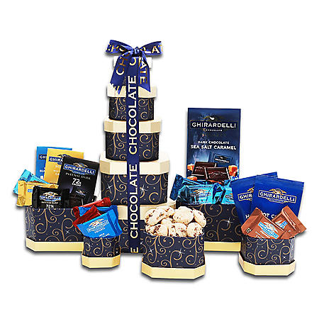 The Gifting Group Ghirardelli Chocolate Tower